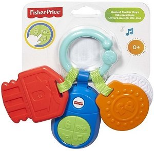 Fisher-price, muzieksleuteltjes