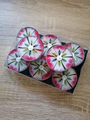 Waxinelichtjes, roze