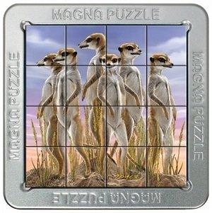 Magna puzzel 3d, stokstaartjes