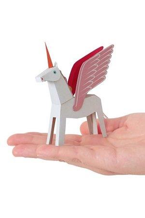 Unicorn wit/roze bouwen