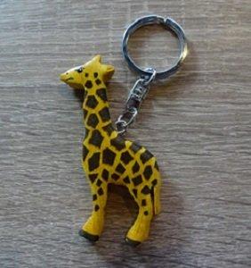 Sleutelhanger, giraffe