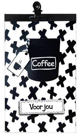 Cadeautas met Merci en cappuccino