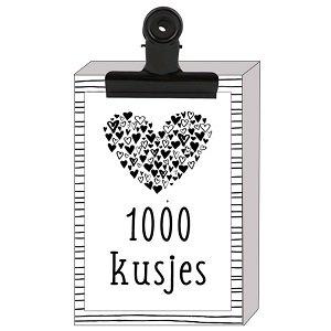1000 kusjes (zeepjes)