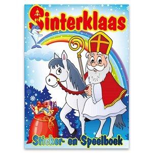 Sinterklaas sticker- en speelboek