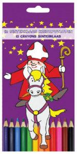 Sinterklaas kleurpotloden