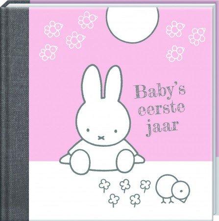 Baby's eerste jaar Nijntje (roze)
