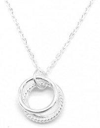 Ketting (zilver) met ringen
