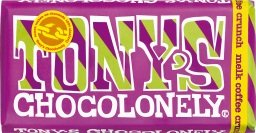 Tony's Chocolonely melk coffee crunch