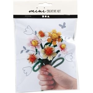 DIY bloemen met strijkkralen