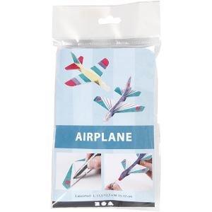 DIY Vliegtuig van foam