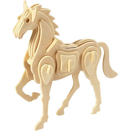 3d houten constructie set, Paard