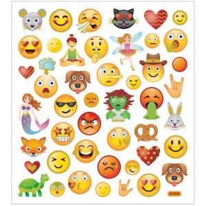 Stickervel met Smileys ☺