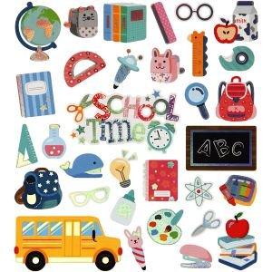 Stickervel school time