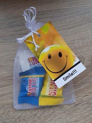 Tiny Tony's Chocolonely: smile!!!