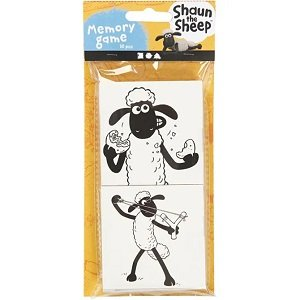 DIY memory game Shaun