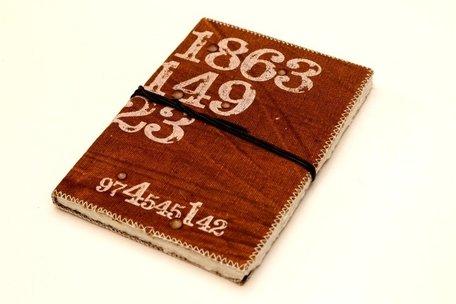 Notitieboek cijfers (bruin)