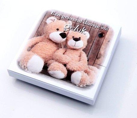 Een geurend doosje vol geluk (teddybeer)