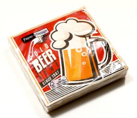 Servetten bier
