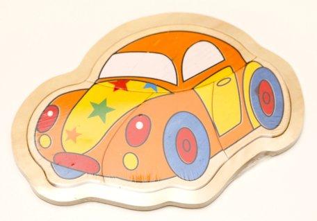 Puzzel auto