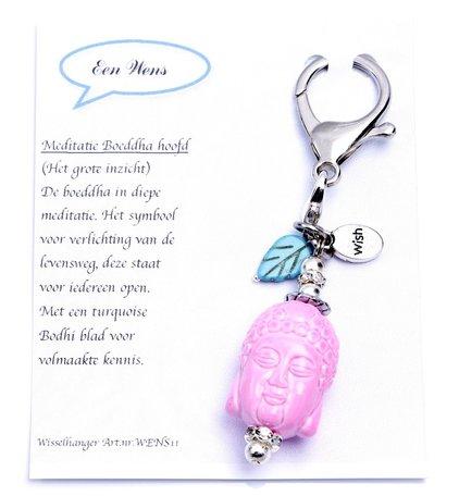 Boeddha hanger (roze)