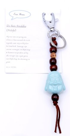 De reis Boeddha (turquoise)