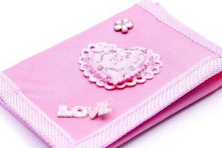 Portemonnee roze
