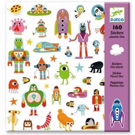 Djeco - 160 stickers Robot