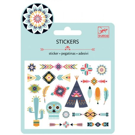 Djeco mini stickers western
