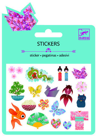 Djeco mini stickers japans