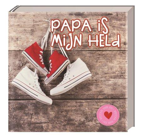 Papa is mijn held