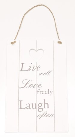 Live well Love freely