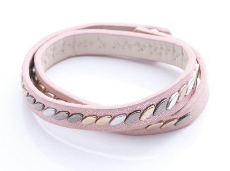 stoere armband (roze)