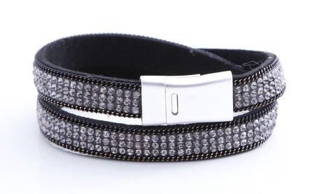 Prachtige zwarte armband