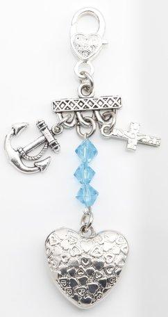 Geloof hoop en liefde (turquoise)