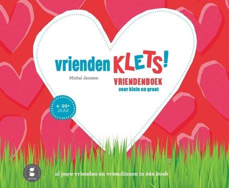 Vriendenklets vriendenboekje (rode cover)