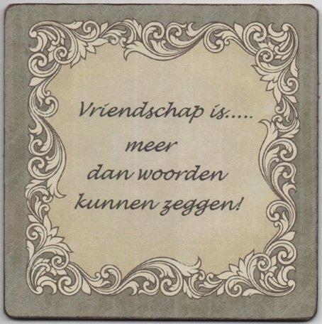 Vriendschap is....meer dan
