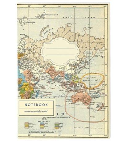 Travel Reis-Notitieboek Set Van 3