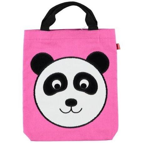 Panda tas roze