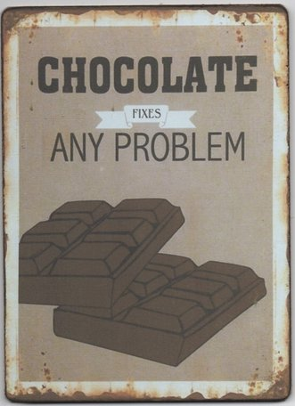 Bordje, chocolate fixes any problem