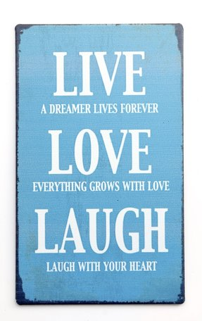 Magneet, live love laugh