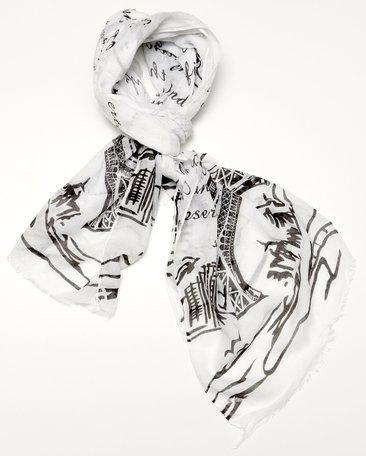 Sjaal, eiffeltoren