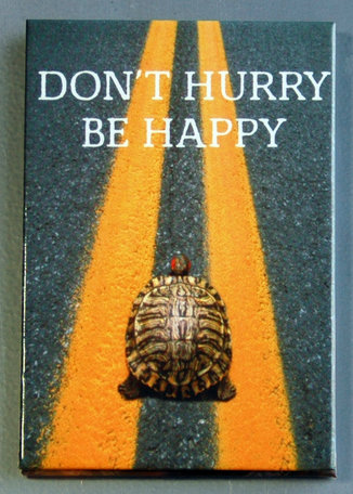 Magneet, don't hurry be happy