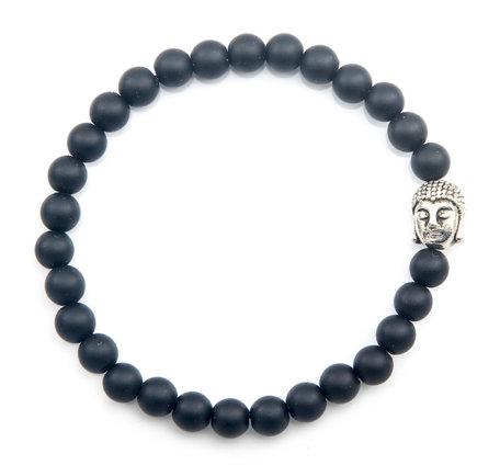 Boeddha armband (Onyx)