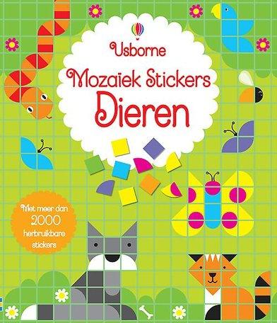 Mozaiek stickers dieren