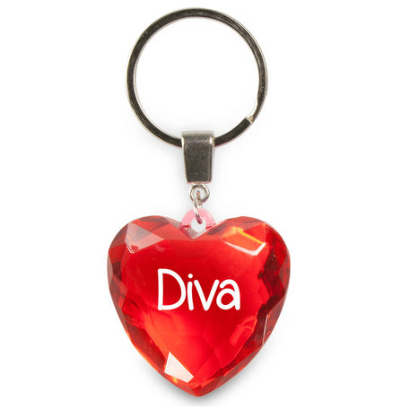 Sleutelhanger Diva