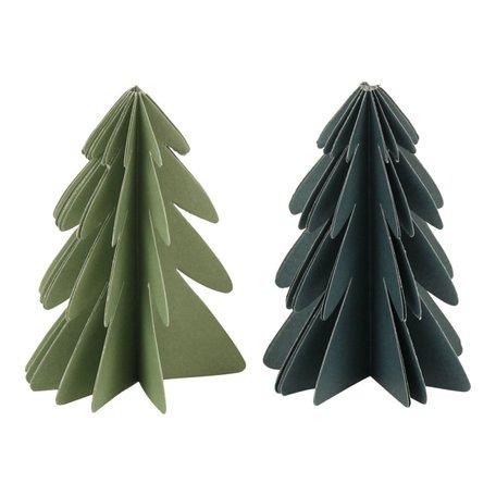 Kerstboom papier