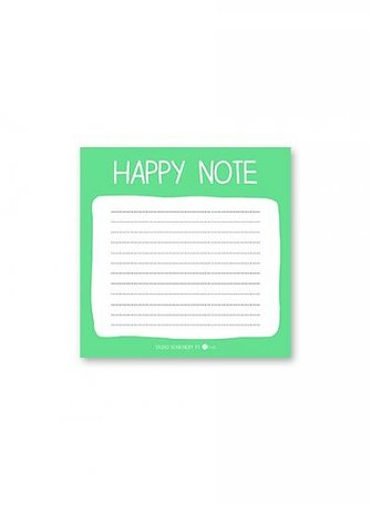 Mini note: Happy note