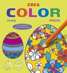 Creatief kleurboek  Paas
