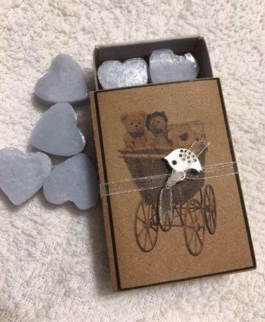 Kinderwagen(doosje zeepjes)