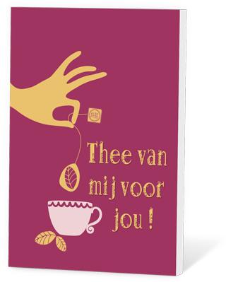 Thee van mij voor jou (thee en een kaartje)